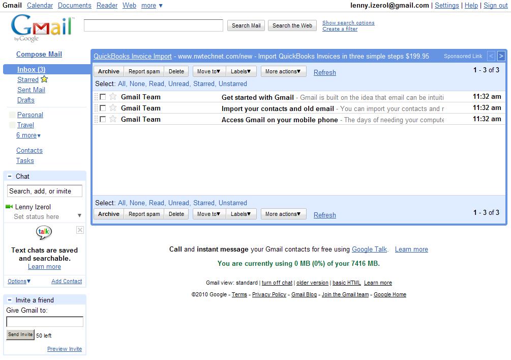 mail google login